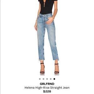 9039b8f79ce8 GRLFRND Jeans - GRLFRND Denim jeans